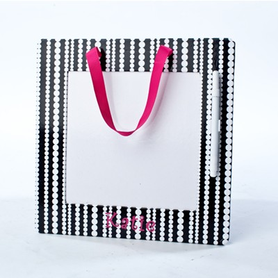 Personalized Polka Dot Dry Erase Board