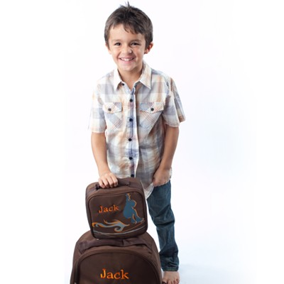 Skater Backpack and Lunch Tote